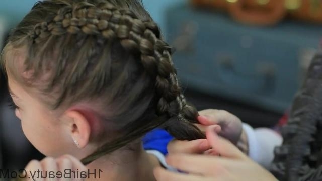 Zipper Braid Updo Hairstyles – 1Hairbeauty ® With Best And Newest Zipper Braids With Small Bun (View 5 of 15)