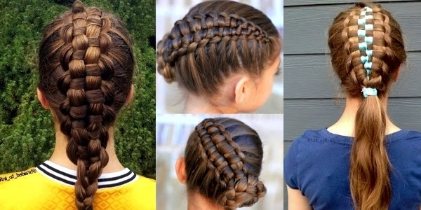 Zipper Braid Updo! Images And Video Tutorials! – The Haircut Web With Regard To Most Popular Zipper Braids With Small Bun (View 3 of 15)