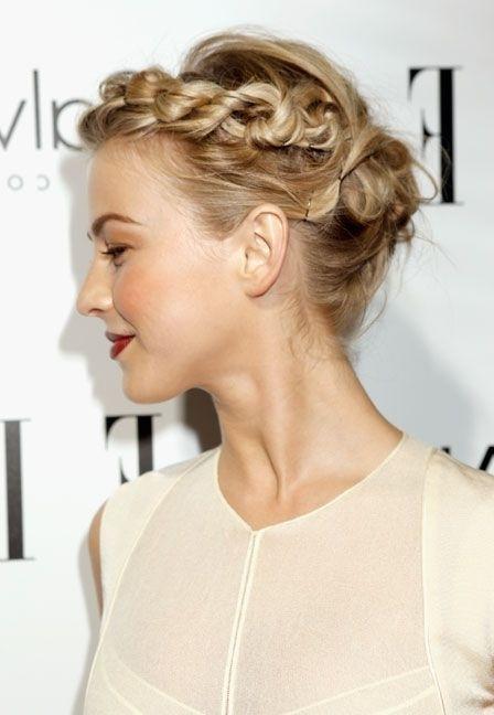 1. Part Hair 2. Make A French Braid (View 13 of 25)