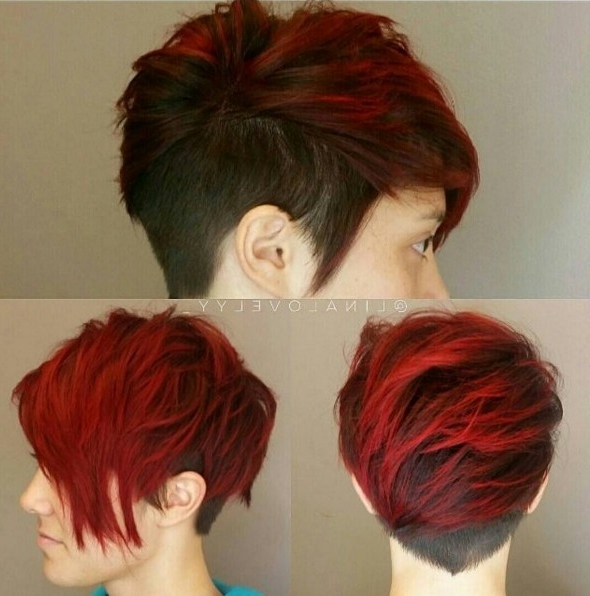 10 Adorable Short Hairstyle Ideas: 2018 Haircuts For Women Short Hair Throughout Newest Piece Y Pixie Haircuts With Subtle Balayage (View 9 of 25)