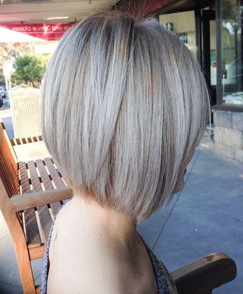 10 Ash Blonde Bob | Short Hairstyles 2017 – 2018 | Most Popular Pertaining To Sleek Ash Blonde Hairstyles (View 8 of 25)