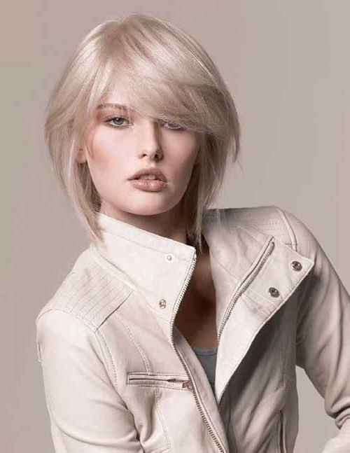 10 Ash Blonde Bob   Short Hairstyles 2017 – 2018   Most Popular With Regard To Cute Blonde Bob With Short Bangs (View 21 of 25)