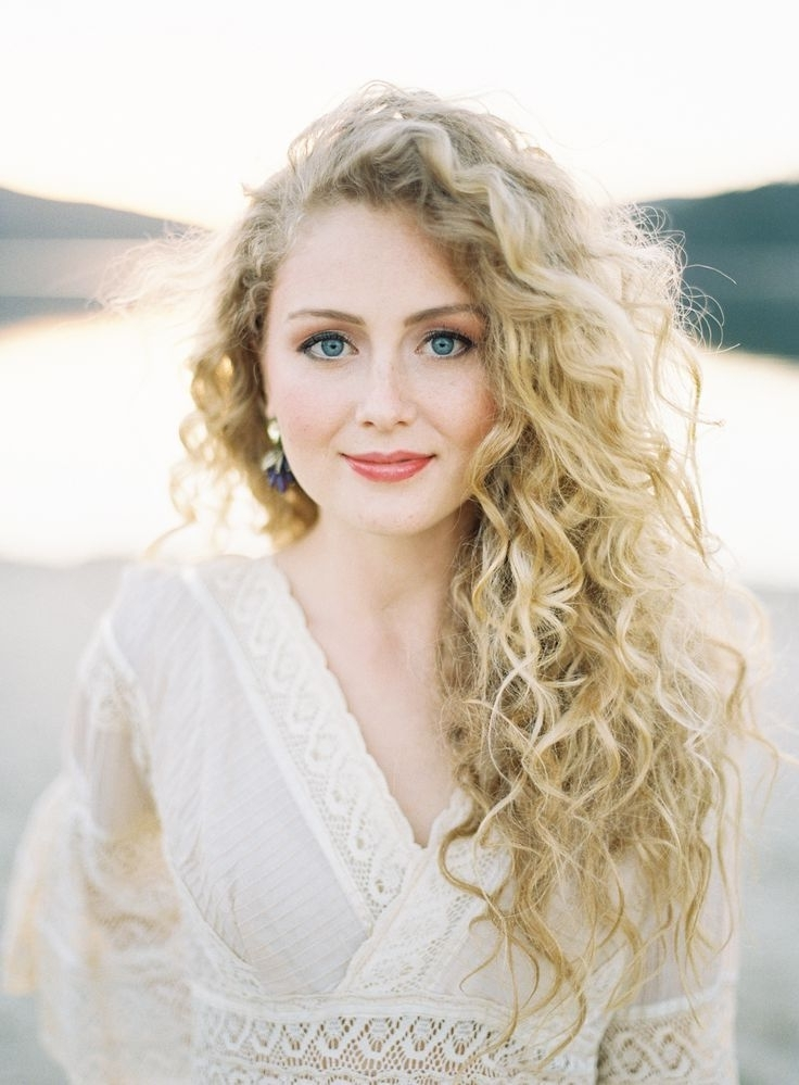 10 Best Long Curly Hair Blonde Hair Models » Best Long Haircuts Pertaining To White Wedding Blonde Hairstyles (View 19 of 25)