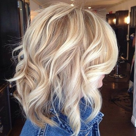 10 Best Medium Length Blonde Hairstyles – Shoulder Length Hair Ideas Inside Bright Long Bob Blonde Hairstyles (View 21 of 25)