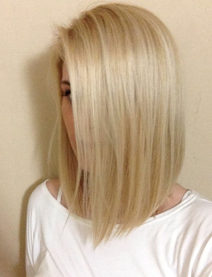 10 Bob Hairstyles For Fine Hair | Hair Ideas: Mid Length | Pinterest For Bright Long Bob Blonde Hairstyles (View 15 of 25)