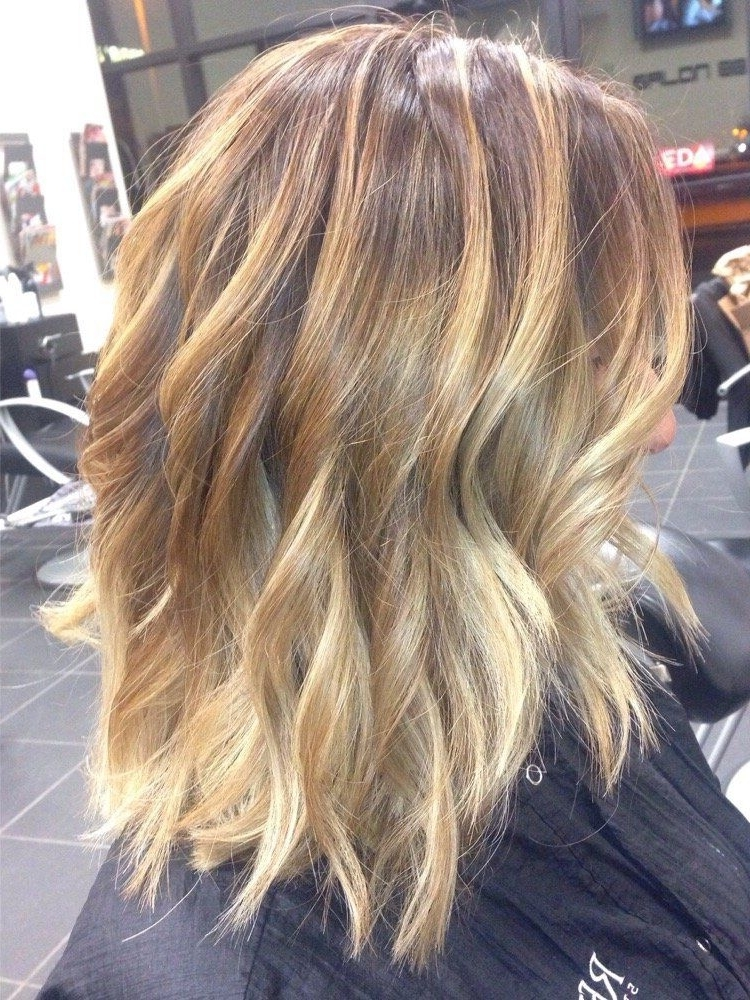 10 Bombshell Blonde Highlights On Brown Hair | Hair | Pinterest Throughout Dirty Blonde Balayage Babylights Hairstyles (View 1 of 25)