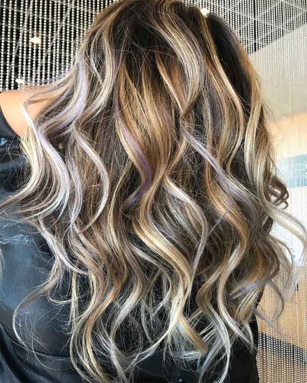 10 Bombshell Blonde Highlights On Brown Hair | Makeup Tutorials With Brunette Hairstyles With Dirty Blonde Ends (View 21 of 25)