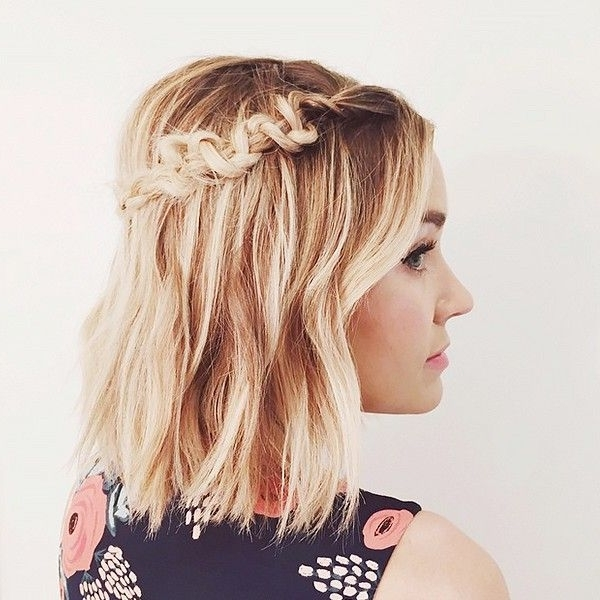 10 Cool And Easy To Pull Off Braids For Short Hair | Hair Style Inside Brunette Macrame Braid Hairstyles (View 1 of 25)