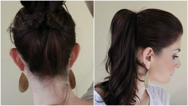10 Creative Ways To Wear A Ponytail – Ma Nouvelle Mode Within Classy Pinned Pony Hairstyles (View 18 of 25)
