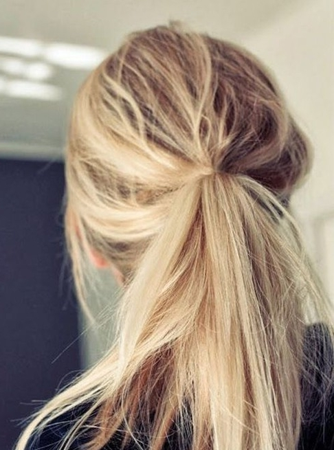 10 Cute Ponytail Hairstyles For 2018: New Ponytails To Try This Inside High And Tousled Pony Hairstyles (View 7 of 25)