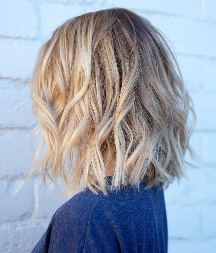 10 Cute & Simple Dirty Blonde Hairstyles We Love Pertaining To Messy Blonde Lob Hairstyles (View 16 of 25)