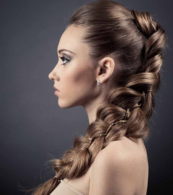 10 Easy And Quick Banana Clip Hairstyles You Must Try Intended For Princess Like Ponytail Hairstyles For Long Thick Hair (View 20 of 25)