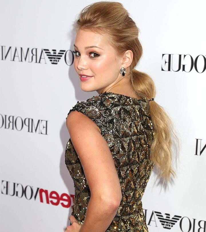 10 Easy And Quick Friday Hairstyles You Can Try Today Intended For Sleek Bubble Ponytail Hairstyles (View 23 of 25)