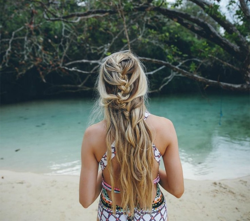 10 Easy Summer Braids | Self Within Beachy Braids Hairstyles (View 16 of 25)