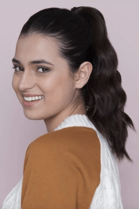 10 Easy Ways To Amp Up Your Ponytail Hairstyle Regarding High And Tousled Pony Hairstyles (View 14 of 25)