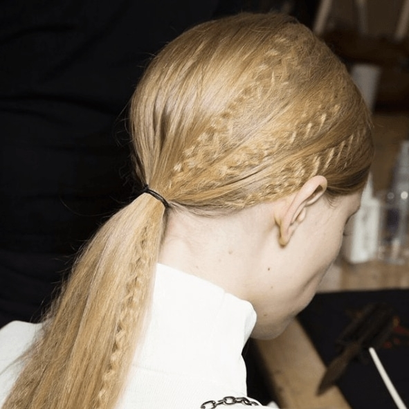 10 Easy Ways To Amp Up Your Ponytail Hairstyle With Crimped Pony Look Ponytail Hairstyles (View 17 of 25)