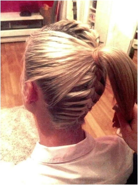10 French Braid Hairstyles For Long Hair – Popular Haircuts Pertaining To French Braid Hairstyles With Ponytail (View 9 of 25)