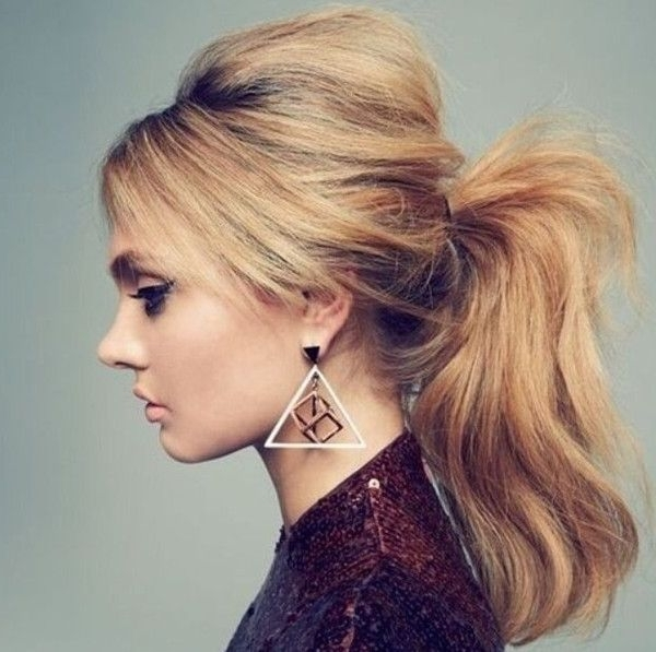 10 Lovely Ponytail Hair Ideas For Long Hair, Easy Doing Within 5 With Long Blond Ponytail Hairstyles With Bump And Sparkling Clip (View 8 of 25)