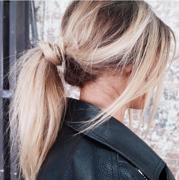 10 Lovely Ponytail Hair Ideas For Long Hair, Easy Doing Within 5 With Twisted And Tousled Ponytail Hairstyles (View 14 of 25)