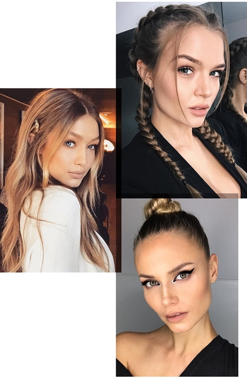 10 Party Hairstyles Spotted On Model Instagrams From Gigi Hadid To Within Gigi Hadid Inspired Ponytail Hairstyles (View 2 of 25)