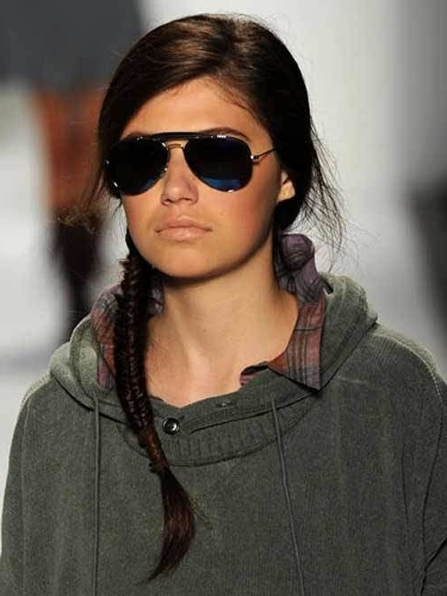 10 Peinado Trenza Pez O Cola De Pez Que Son Increíbles Regarding Rockstar Fishtail Hairstyles (View 25 of 25)
