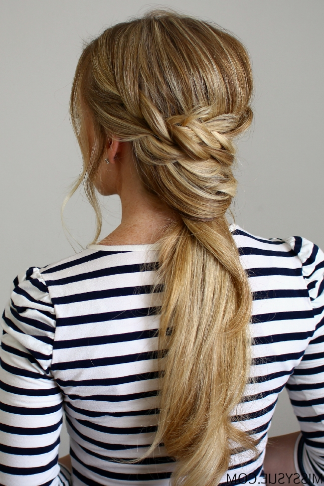 10 Preppy Hairstyles For Fall | Ponytail, Wraps And Hair Style Throughout The Criss Cross Ponytail Hairstyles (View 20 of 25)