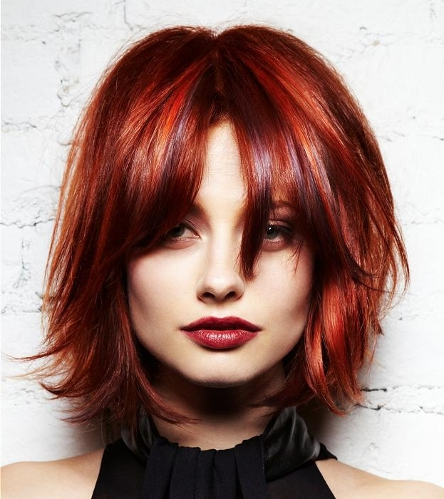 10 Ravishing Red Hairstyles For Mesmerizing Green Eyed Girls With Current Ravishing Red Pixie Hairstyles (View 4 of 25)