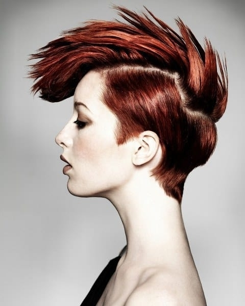 10 Ravishing Red Hairstyles For Mesmerizing Green Eyed Girls With Most Up To Date Ravishing Red Pixie Hairstyles (View 8 of 25)