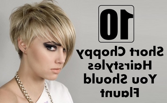 10 Short Choppy Hairstyles You Should Flaunt | Style Presso With Regard To Best And Newest Choppy Bowl Cut Pixie Hairstyles (View 15 of 25)