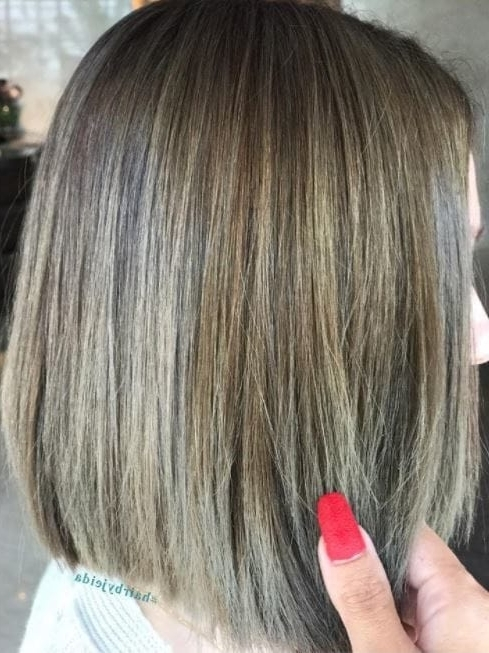 10 Stunning Ash Brown Hair Ideas To Suit Everyone With Regard To Light Ash Locks Blonde Hairstyles (View 15 of 25)