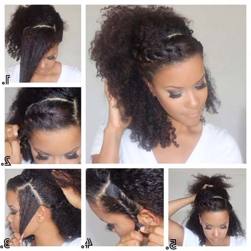 10 Stunning Hairstyles For Natural Hair For Pony Hairstyles For Natural Hair (View 1 of 25)