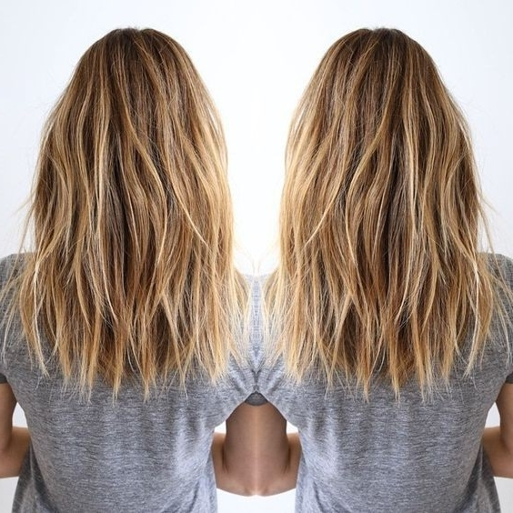 10 Stylish Blonde Balayage Color: Hair Color Ideas 2018 Intended For Balayage Blonde Hairstyles With Layered Ends (View 4 of 25)