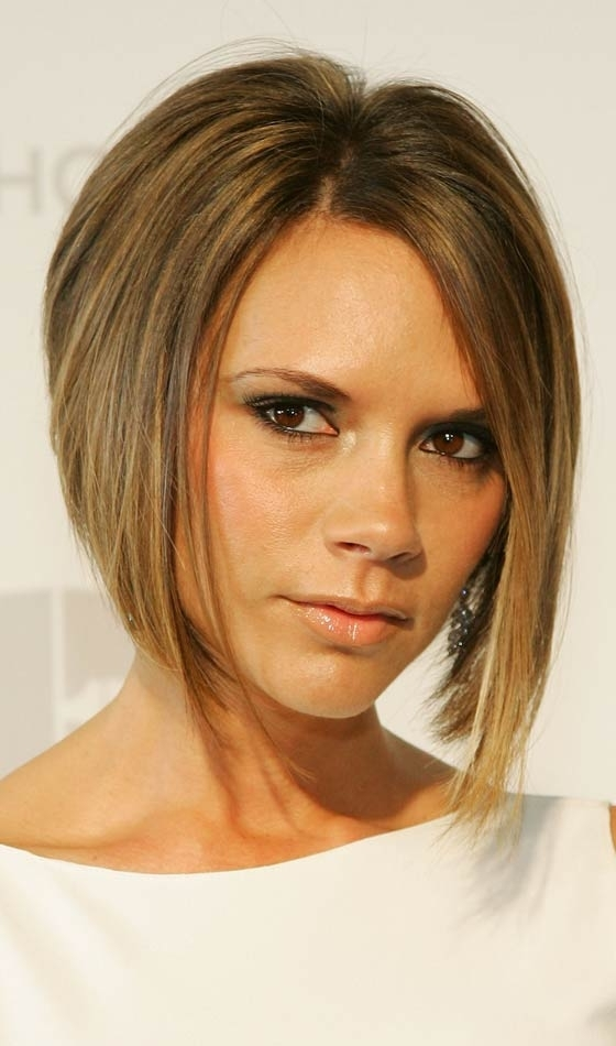 10 Stylish Celebrity Bob Hairstyles You Can Try Out Today Intended For Poker Straight Cool Blonde Style (View 1 of 25)