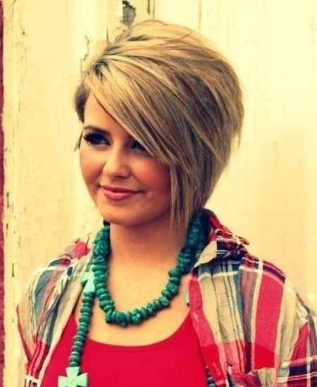 10 Trendy Short Hairstyles For Women With Round Faces | Styles Weekly Regarding Most Recent Asymmetrical Long Pixie Hairstyles For Round Faces (View 17 of 25)