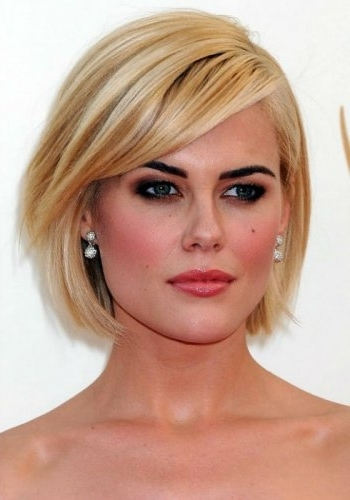 100 Best Blonde Bob Haircuts   Blonde Bobs 2017 Inside Cute Blonde Bob With Short Bangs (View 13 of 25)