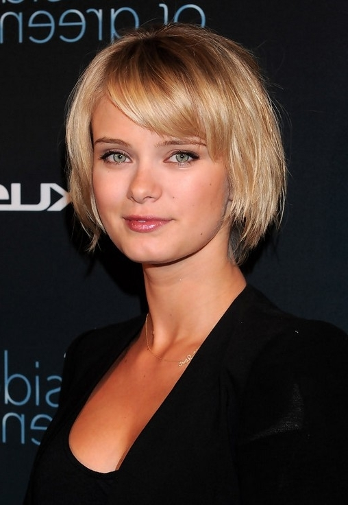 100 Hottest Bob Hairstyles For Short, Medium & Long Hair – Bob Cuts 2016 Within Cute Blonde Bob With Short Bangs (View 4 of 25)