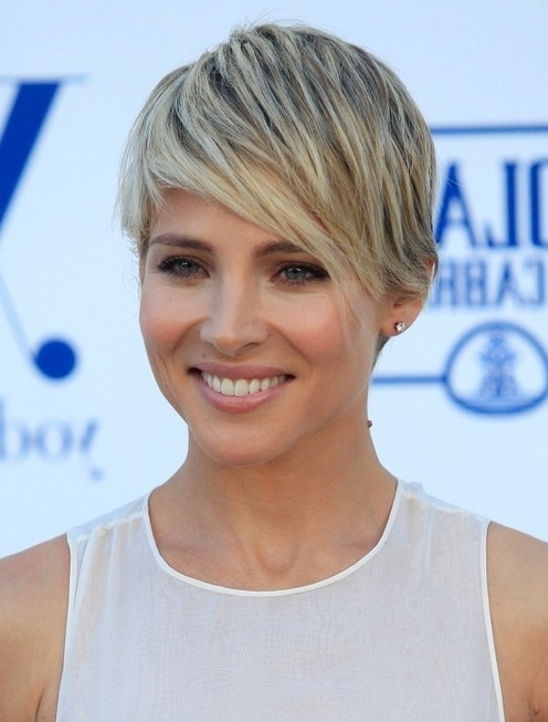 100+ Hottest Short Hairstyles & Haircuts For Women – Pretty Designs With Most Current Blonde Pixie Hairstyles With Short Angled Layers (View 13 of 25)