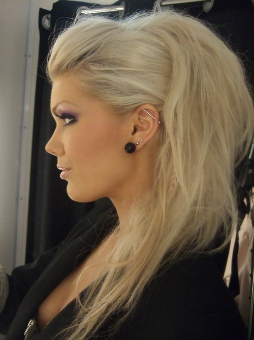 100 Mind Blowing Short Hairstyles For Fine Hair   Hair   Pinterest Within Rockstar Fishtail Hairstyles (View 20 of 25)