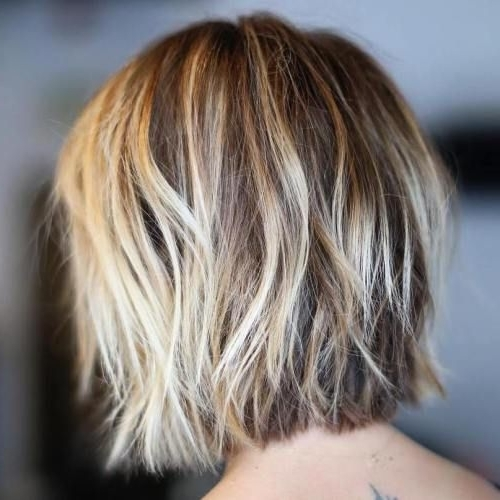 100 Mind Blowing Short Hairstyles For Fine Hair | Pinterest | Blonde In Shaggy Highlighted Blonde Bob Hairstyles (View 16 of 25)