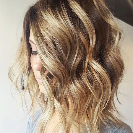 100 New Bob Hairstyles 2016 – 2017 – Love This Hair In Curly Caramel Blonde Bob Hairstyles (View 20 of 25)