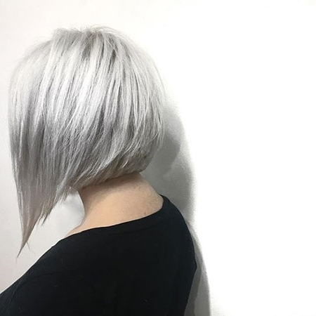 100 New Bob Hairstyles 2016 – 2017 | Short Hairstyles 2017 – 2018 For Short Silver Blonde Bob Hairstyles (View 8 of 25)
