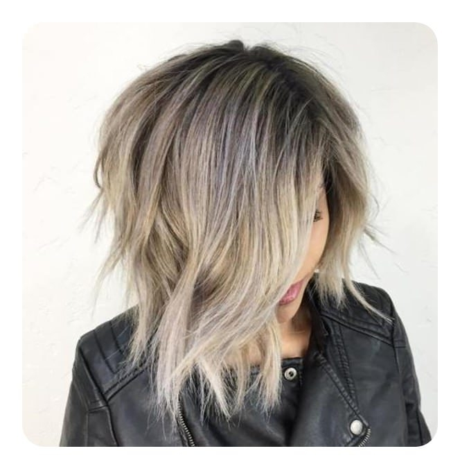 101 Asymmetrical Bob Hair Ideas For The Year 2018 – Style Easily Inside Asymmetry Blonde Bob Hairstyles Enhanced By Color (View 2 of 25)