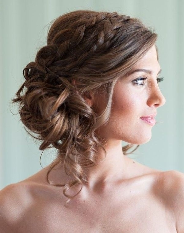 101 Romantic Braided Hairstyles For Long Hair And Medium Hair With Braided Along The Way Hairstyles (View 22 of 25)