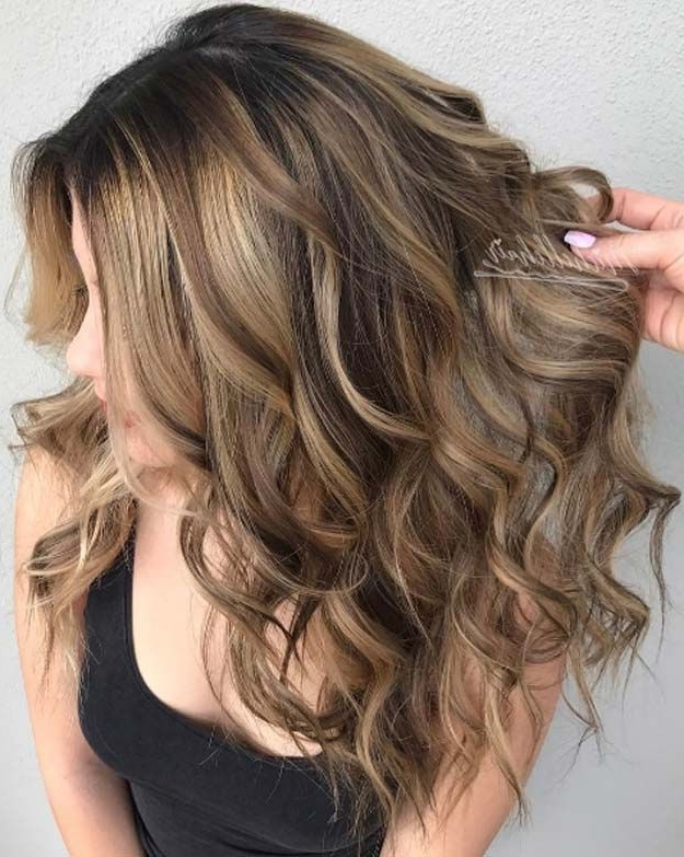 Featured Photo of Brunette Hairstyles With Dirty Blonde Ends