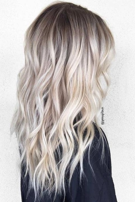 11+ Best Platinum Blonde Hair Color Ideas | Viva Locks | Pinterest Regarding Platinum Blonde Long Locks Hairstyles (View 16 of 25)