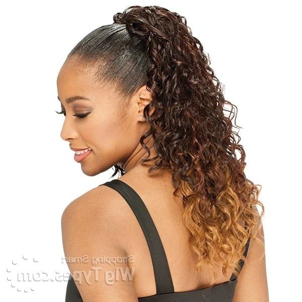 Featured Photo of Embellished Drawstring Ponytail Hairstyles