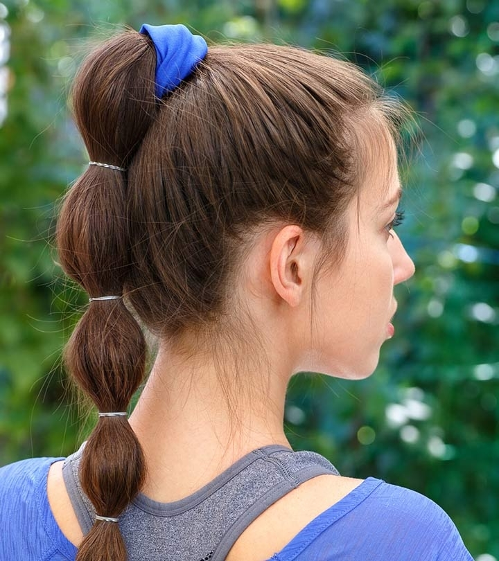 11 Puff Pony Hairstyles For You To Try Regarding Dyed Simple Ponytail Hairstyles For Second Day Hair (View 20 of 25)