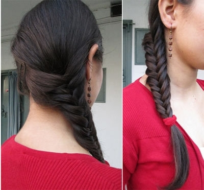 11 Unique Fishtail Braid Hairstyles To Inspire You In Rockstar Fishtail Hairstyles (View 23 of 25)