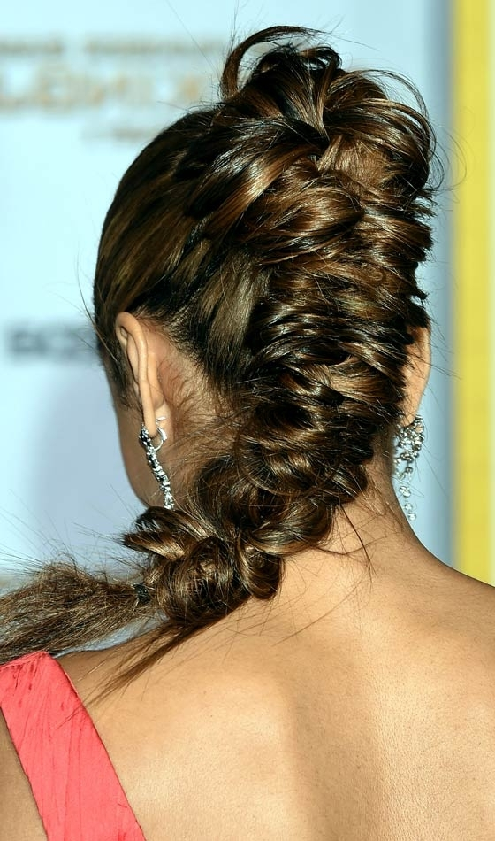 11 Unique Fishtail Braid Hairstyles To Inspire You Intended For Rockstar Fishtail Hairstyles (View 2 of 25)
