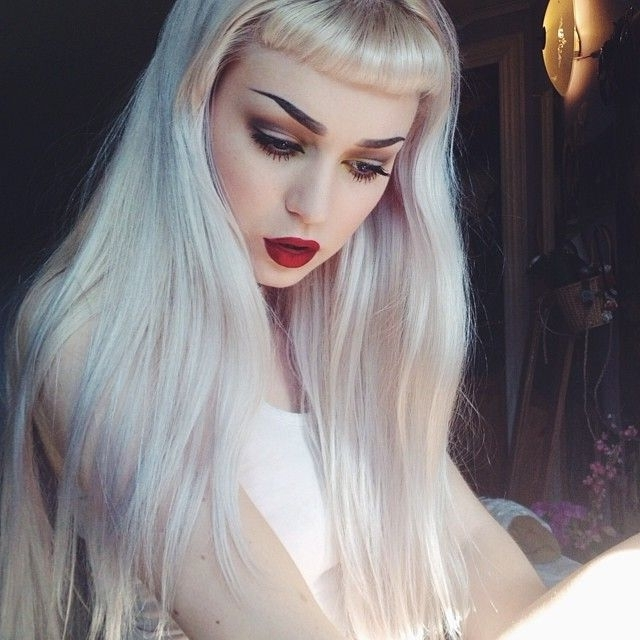 114 Best Hairy Images On Pinterest | Hair Ideas, Hairstyle Ideas And In Silver Bettie Blonde Hairstyles (View 2 of 25)